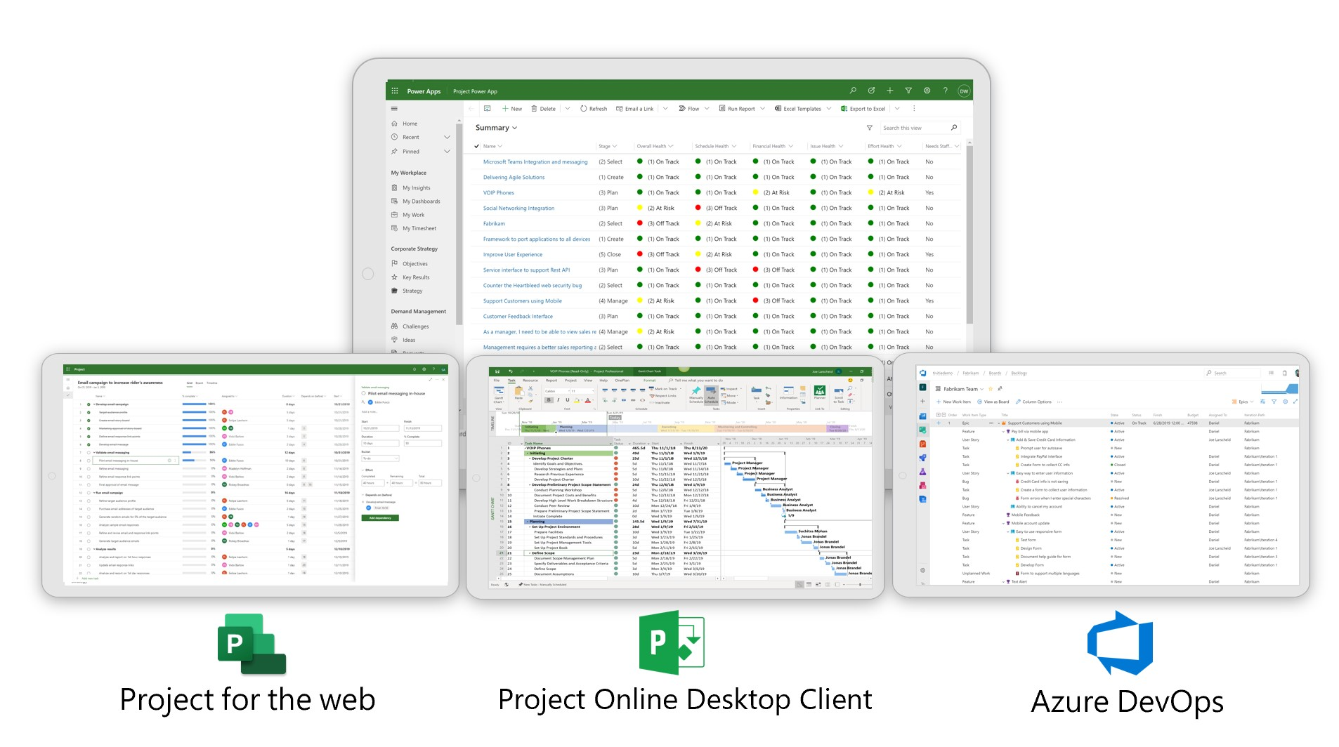How OnePlan is aligning with Microsoft's Project and Portfolio Management Vision