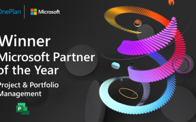 OnePlan Recognized as Winner of 2021 Microsoft Project & Portfolio Management Partner of the Year