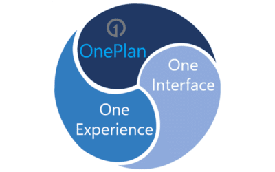 OnePlan is fused with the Microsoft User Experience